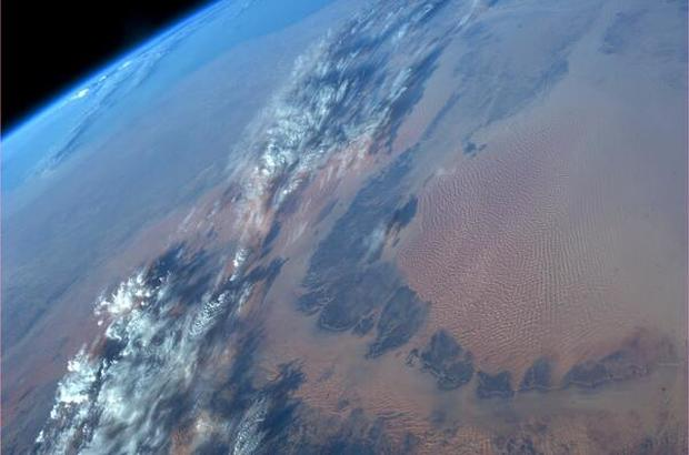 Stunning views from space