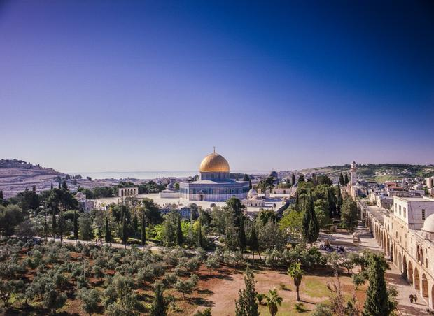 Jerusalem film reveals Holy City's stunning cityscape