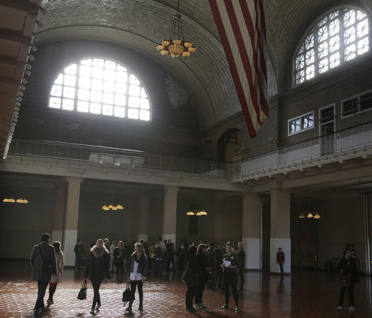 Ellis Island reopens post-Sandy