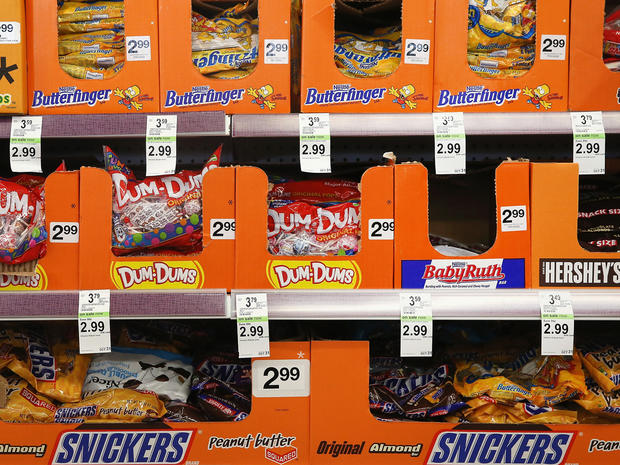How long will it take to burn off that Halloween candy?