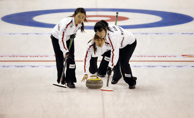 Drama on ice at curling championships
