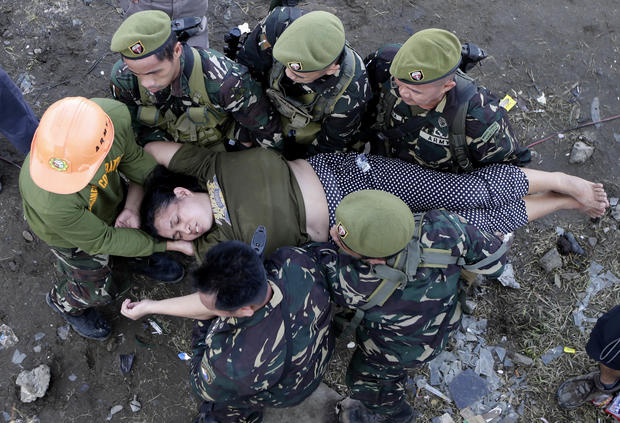 Typhoon victims begin long road to recovery