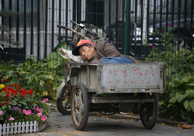 Nap time in China