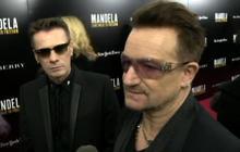 "U2 hosts ""Mandela: Long Walk to Freedom"" screening in NYC"
