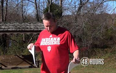 Home video: David Camm burns prison uniform