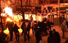Protesters surround Ukrainian president's office