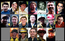 Hotshot firefighters made desperate radio calls for help
