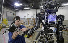 Humanoid robots compete in Fla.