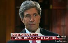 John Kerry: U.S. did not abandon Levinson