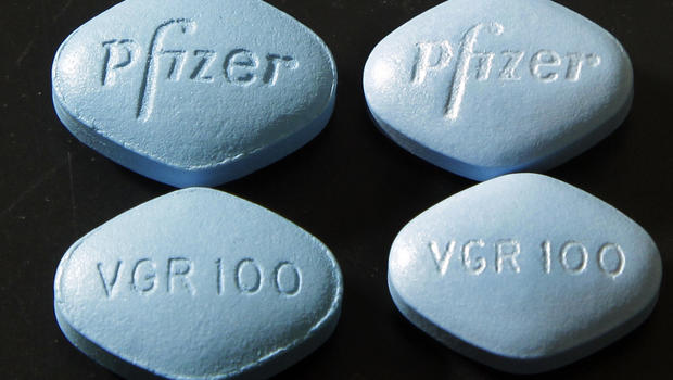 What does the viagra pill look like