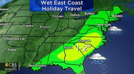 Heavy rain and ice cut power, snarl travel