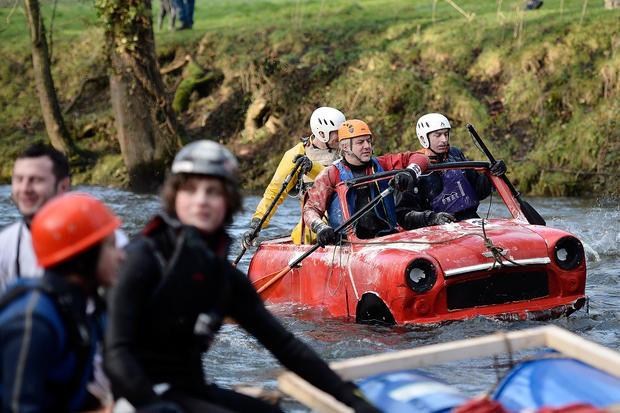 Rafting in style