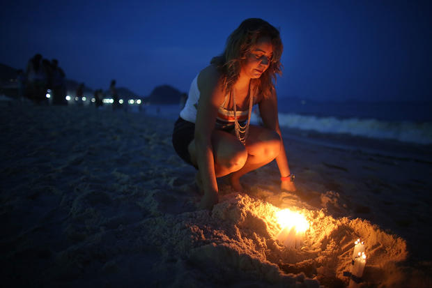 Brazilians celebrate Goddess of the Sea