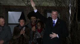 Bill de Blasio sworn in as NYC mayor