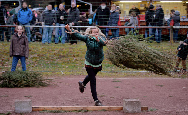 Feats of Yuletide strength