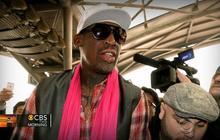 Rodman gets defensive discussing N. Korea trip and American captive