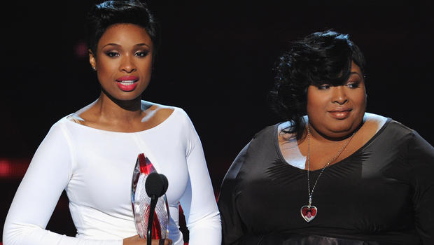 Photo of Jennifer Hudson & her Sister  Julia Hudson