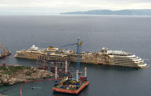 Costa Concordia salvage continues two years later