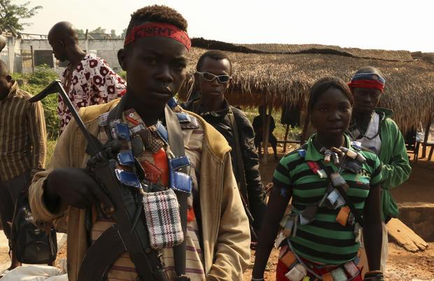 Central African Republic's militiamen