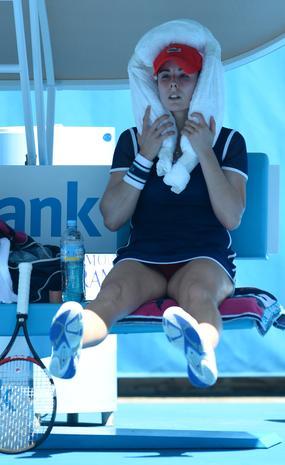 Beating the heat at Australian Open