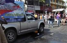 Dozens of anti-government protestors hurt in explosion in Bangkok