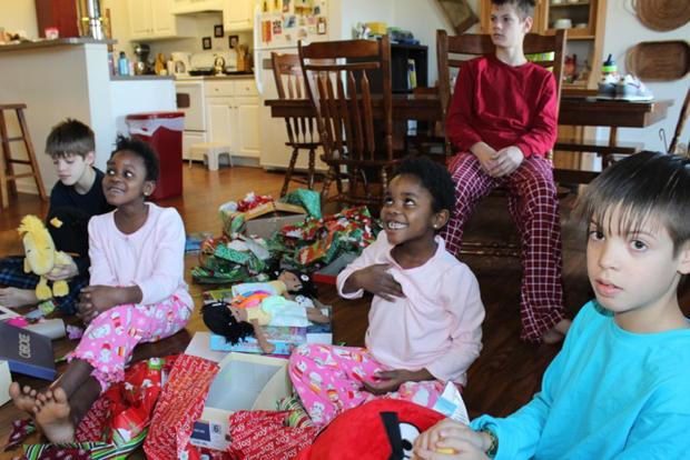 The Owen family's adoption journey