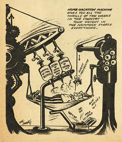 The wacky inventions of Rube Goldberg