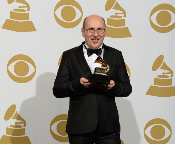 Grammys 2014 press room