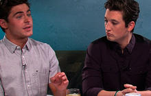 "Zac Efron, Miles Teller, Michael B. Jordan on ""That Awkward Moment"""