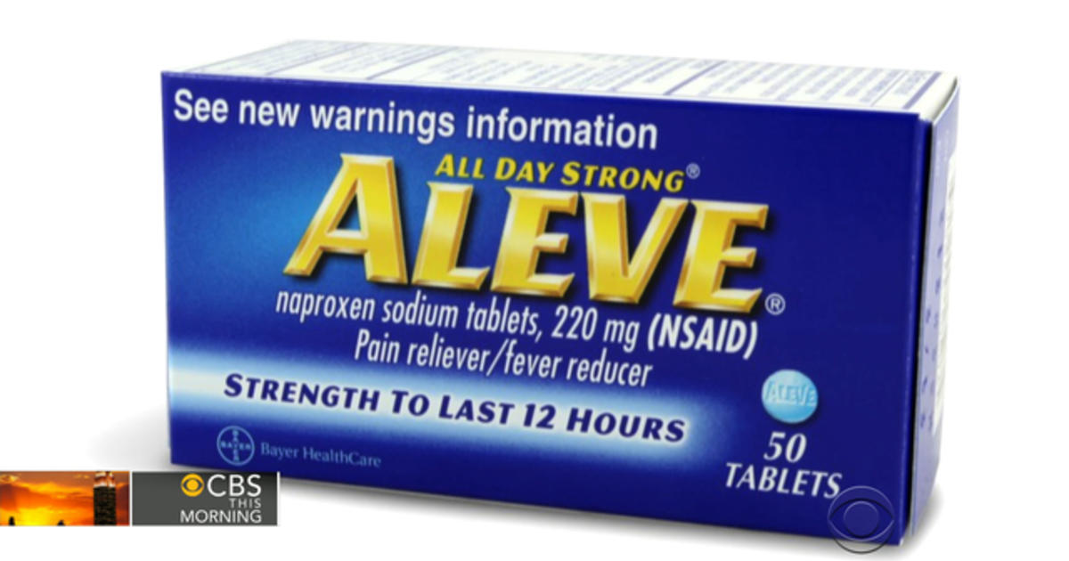aleve may have less heart risk than other pills videos