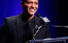 Bruno Mars talks halftime performance ahead of Super Bowl 2014