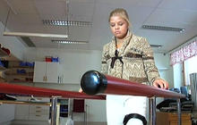 Teen walking again after 3D-printed hip implant