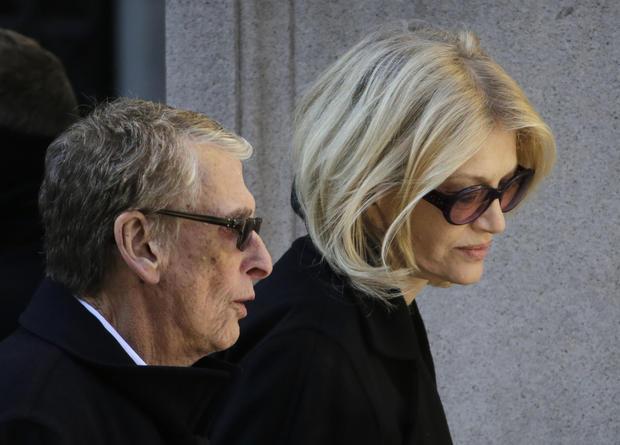 Philip Seymour Hoffman's funeral