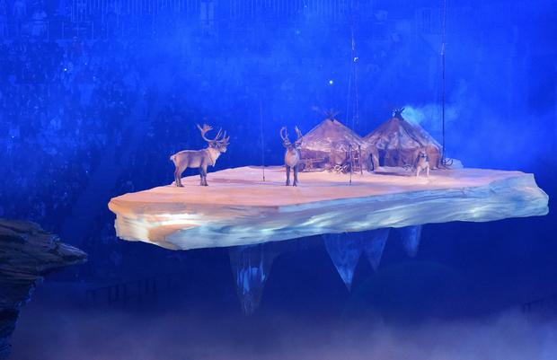Sochi 2014: Opening ceremony