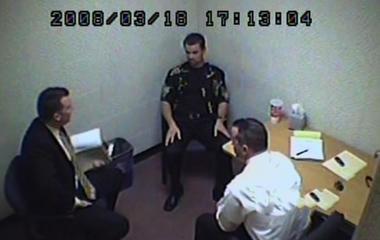 Ernie Scherer interrogation excerpts