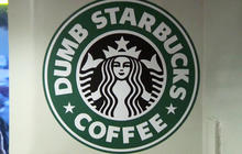 """Dumb Starbucks"" coffee shop opens in Calif."