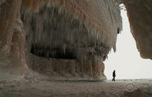 Lake Superior's ice caves offer glimpse of nature's fleeting beauty
