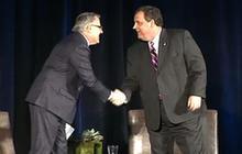 Gov. Christie stands up for former President Bush