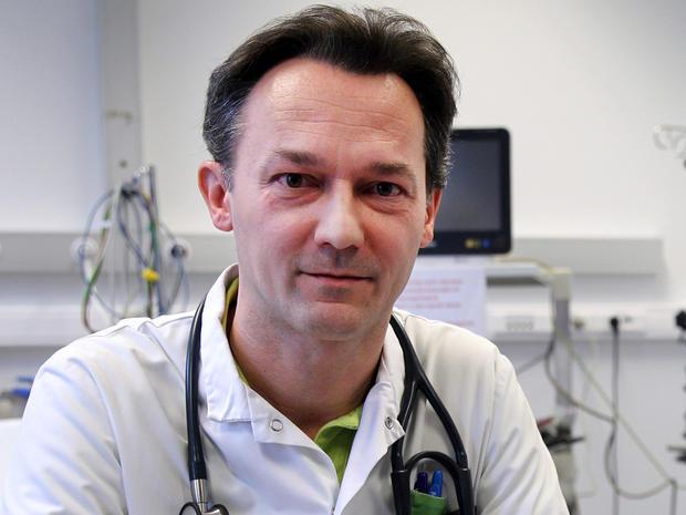Belgian professor and doctor, Gerlant Van Berlaer