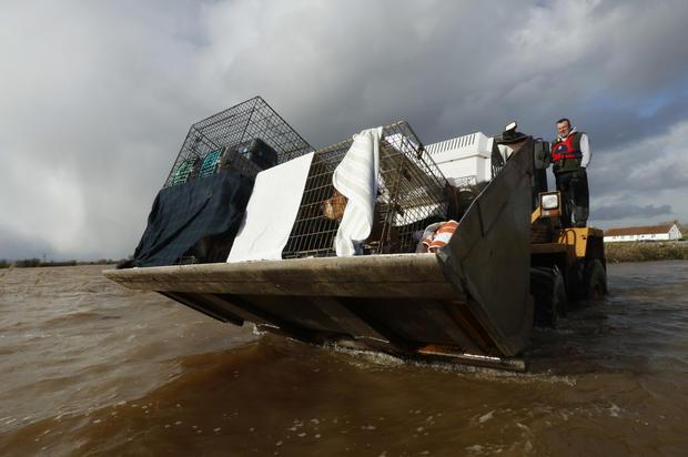 Floods continue to soak Britain
