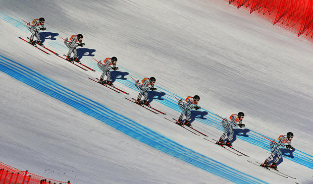 Moving pictures of Sochi's athletes