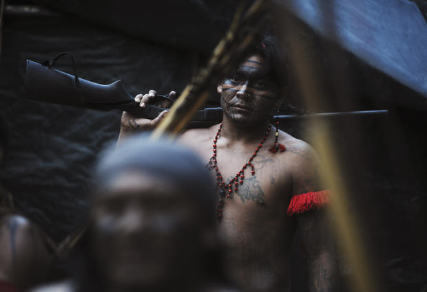 Brazilian tribe fights illegal mining