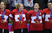 U.S. women fall to Canada in Olympic hockey final