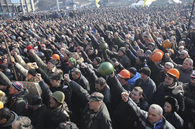 Violence resumes in Kiev