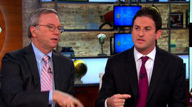 "Google's Eric Schmidt on Snowden: He was ""helpful,"" but company doesn't endorse leaking info"