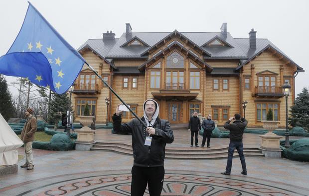 Inside the opulence of Ukraine's leadership