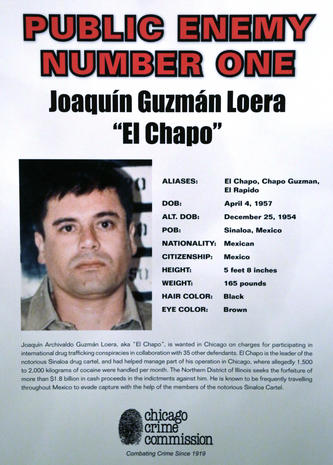 "Drug lord Joaquin ""El Chapo"" Guzman escapes Mexico prison"
