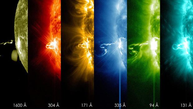Space Weather Model Helps Simulate Solar Storms  NASA
