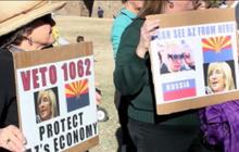 Arizona governor urged to veto bill labeled anti-gay