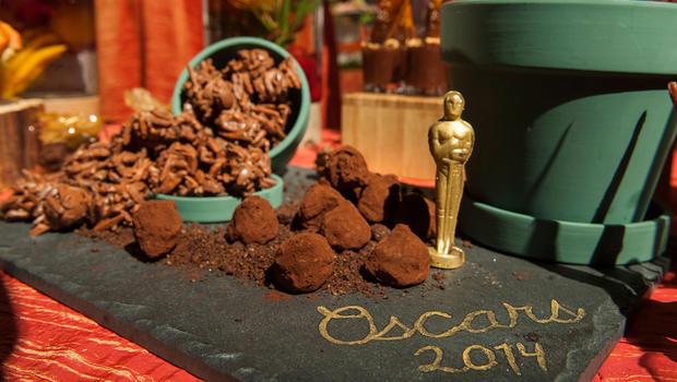 Oscars 2014 Sneak Peek Inside The Governors Ball Cbs News